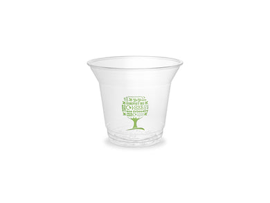 9oz PLA cold cup, 96-Series - Green Tree