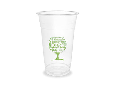 20oz PLA cold cup, 96-Series - Green Tree