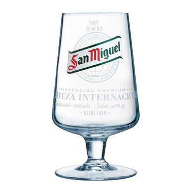 Arcoroc San Miguel Stemmed Beer Glasses 570ml