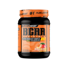 Load image into Gallery viewer, Muscle Sport Mango Blast BCAA Revolution™ 60 Serving