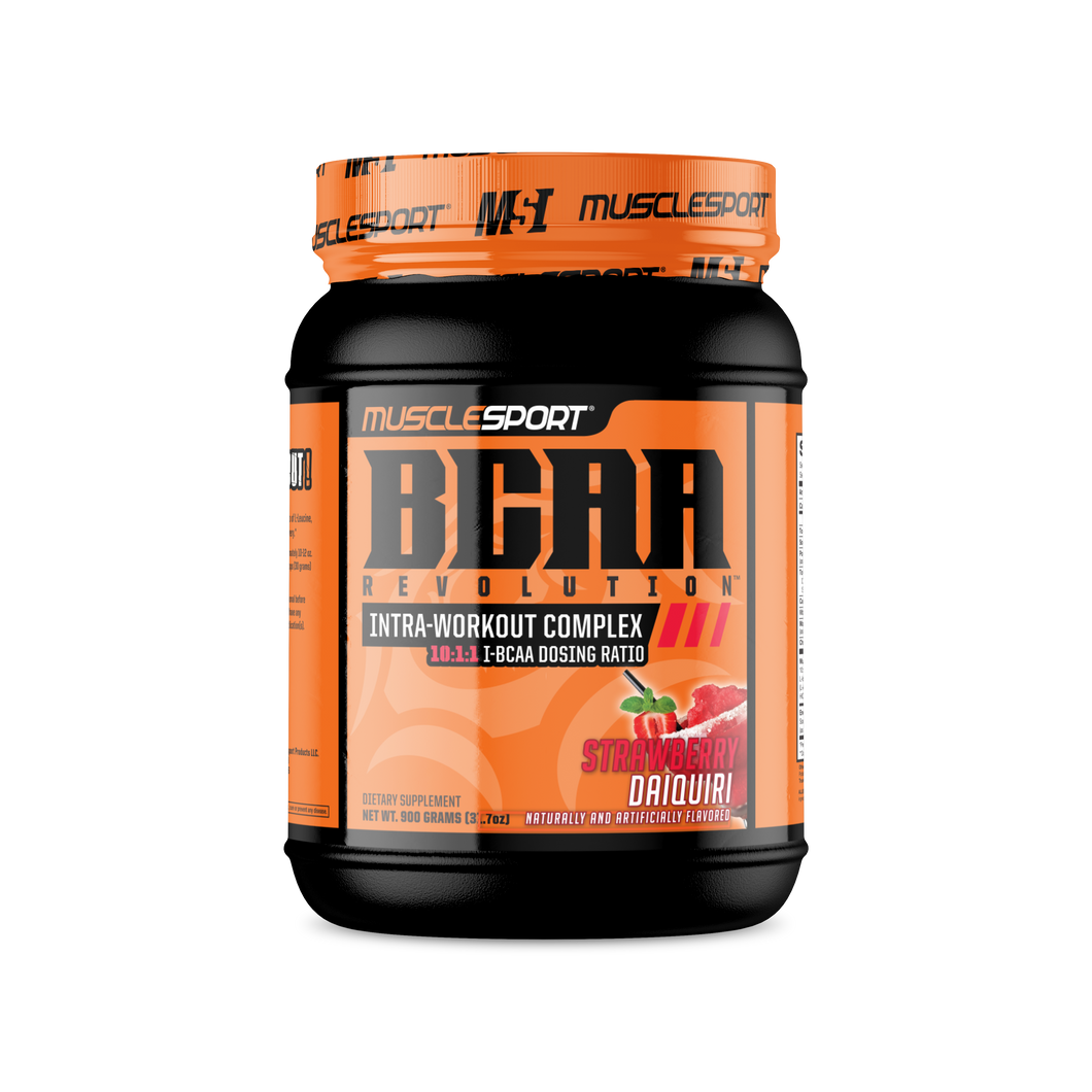 Muscle Sport Strawberry Daiquiri BCAA Revolution™ 60 Serving