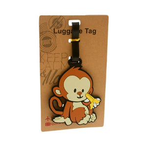 Monkey Luggage Tag (DE-LU17-ACO)