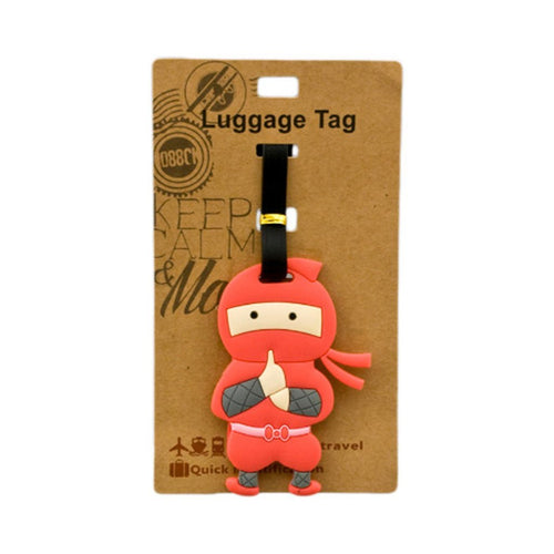 Red Ninja Luggage Tag (DE-LU18-ACO)
