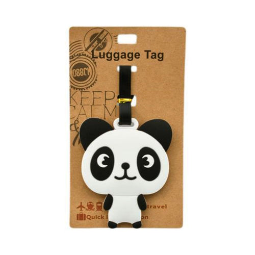 Panda Luggage Tag (DE-LU5-ACO)