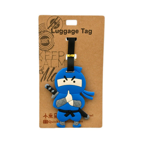 Blue Ninja Luggage Tag (DE-LU7-ACO)