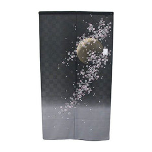 "59"" L Noren - Floral and Moon Patterned (DE-PCOS-202-NRO)"