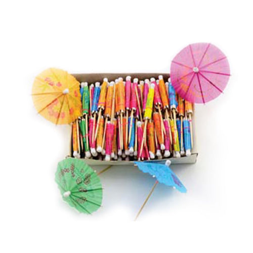 Cocktail mini paper parasol (144pcs) (DI-MP-144-FDO)