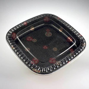 "16"" Round Square Party Tray - 20pcs/bag (DI-TZ-500S-TOO)"