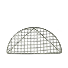 "Load image into Gallery viewer, 8"" L Half Moon Stainless Steel Katsu Rack (KW-80002-TLS)"