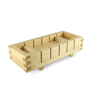 "9.6"" L Sushi Box Wood Press - Large (KW-OMS-200-TLO)"