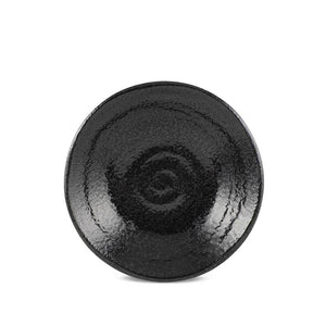 "5.8"" Naruto Black Shallow Bowl - 6 fl.oz. (TW-10002-5.8-BWP)"