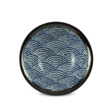 "Load image into Gallery viewer, 7.75"" Seigaiha Bowl -22 oz. (TW-10089-7.75-BWP)"