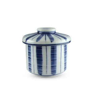 Taiko Grass Chawanmushi Cup with Lid - 4 oz. (TW-10132-CSP)