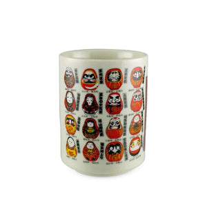 "4.1"" H Daruma Tea Cup - 11 oz. (TW-10172-4.1-TCP)"