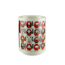 "Load image into Gallery viewer, 4.1"" H Daruma Tea Cup - 11 oz. (TW-10172-4.1-TCP)"