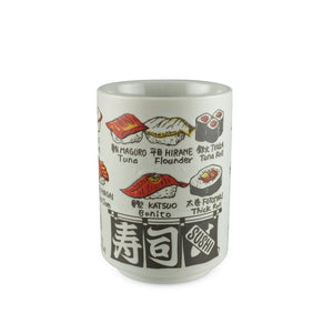 "4.1"" H Sushi Tea Cup - 9 oz (TW-10175-4.1-TCP)"