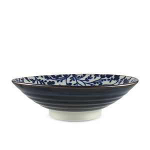 "9.65"" Dia. Ofuke Flower Wide Bowl - 34 oz. (TW-10250-9.65-BWP)"