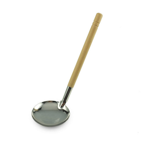 Stainless Steel Ladle with Wood Handle (TW-144300-SNS)
