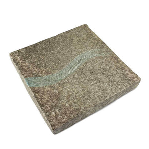 "8"" Square Textured Thick Platter (TW-70036-8-PLP)"