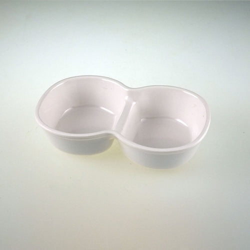 Melamine Double Compartment Dipping Bowl  - FINAL SALE (TW-CC-185-SDM)