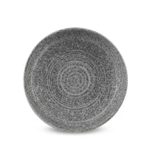 "Load image into Gallery viewer, 6"" White Stone Bowl with Sand Edge - 8 oz. (TW-EW-76-BWP)"