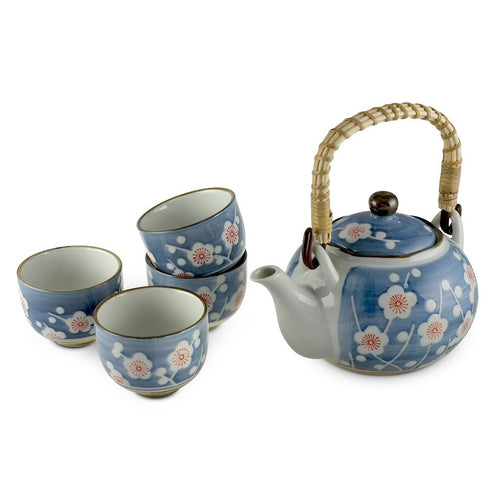 5-Pc Sakura Pattern Tea Set - Tea Pot - 24 oz. (TW-FDT3-TPP)