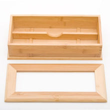 "Load image into Gallery viewer, 10.75"" L Bamboo Holder with Divider (TW-G08-024-N-TLB)"