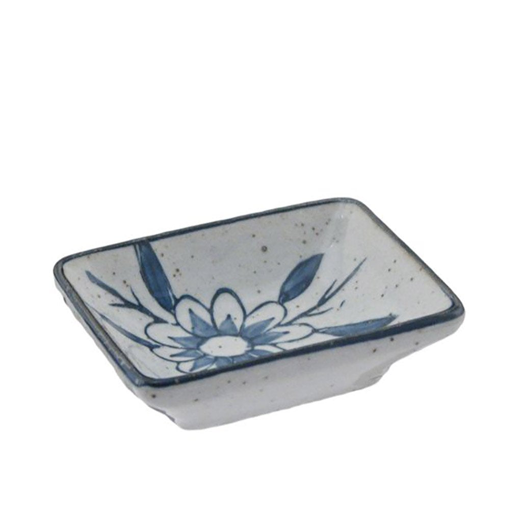 Blue Flower Patterned Sauce Dish (TW-HTD2-SDP)
