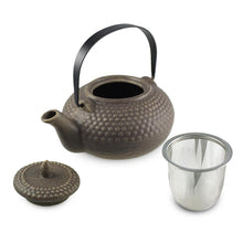 Load image into Gallery viewer, Nailhead-Patterned Ceramic Teapot -  26 oz. (TW-JHTP1-TPP)