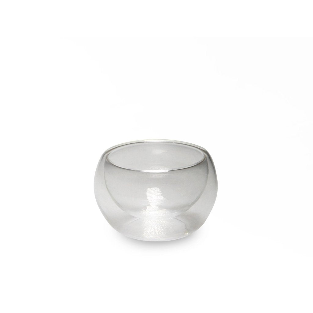 Double Wall Glass Cup - 2 oz. (TW-JQB0050-BRG)