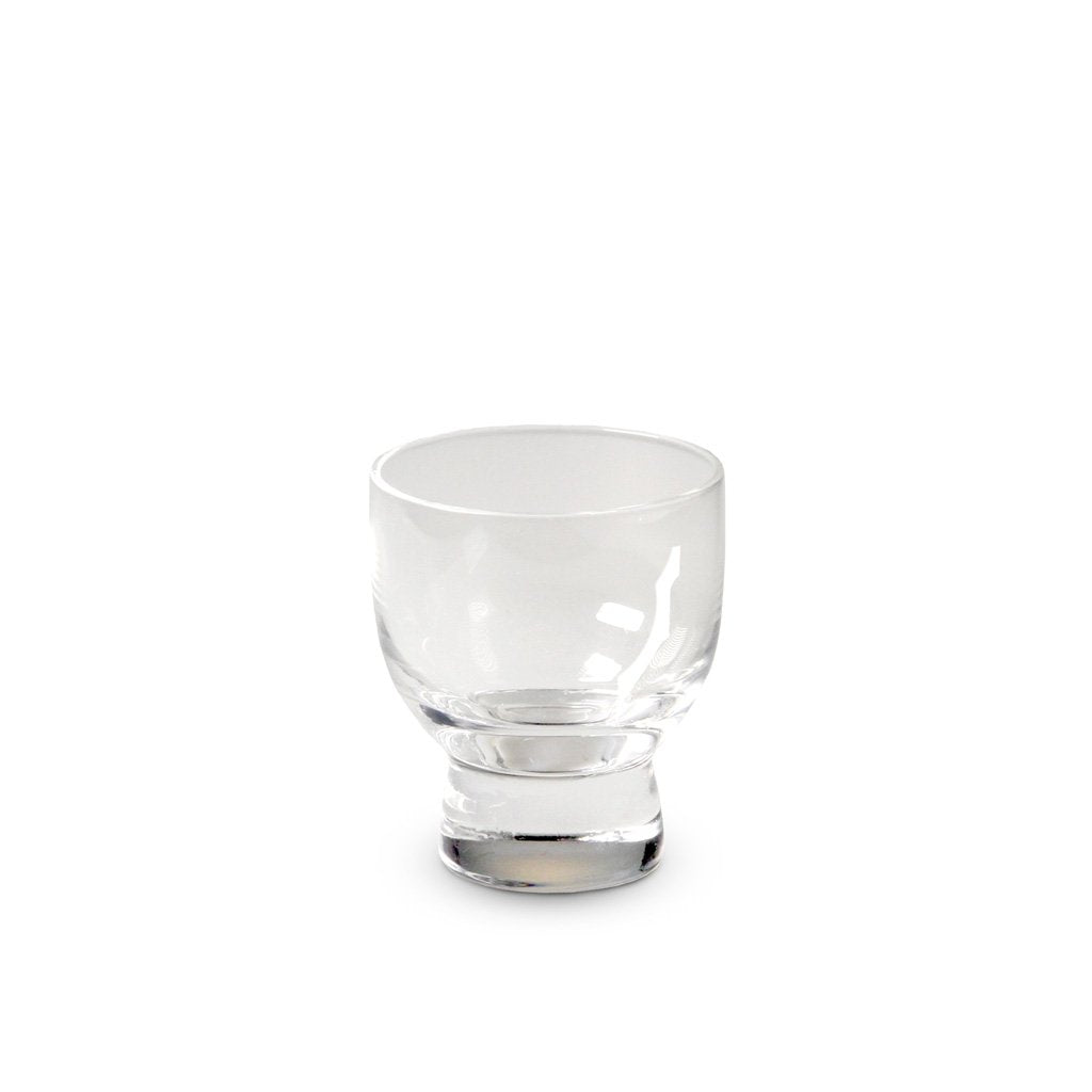 Footed Glass Sake Cup - 3 oz. (TW-MF24-C-BRG)