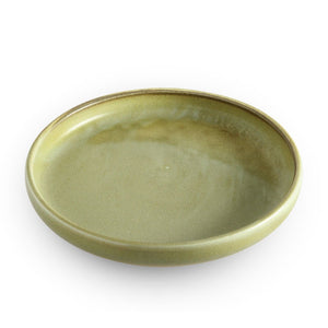 "8"" Golden Green Plate (TW-R048-PLP)"