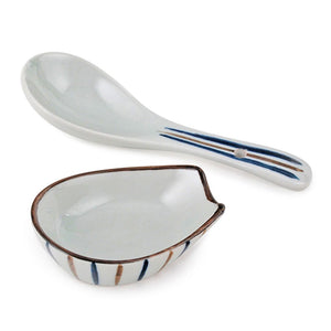 Porcelain Spoon with Holder (TW-SH408-SNP)