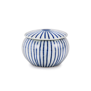 "2"" H Yakumi Pot with Hand Strokes Pattern - 3 oz. (TW-SH415-SPP)"