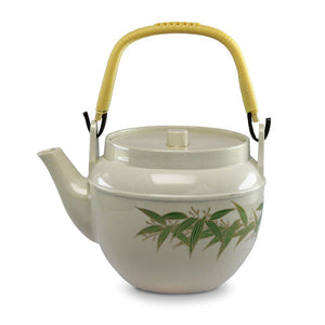 Green Bamboo Leaf with Gold Accent Melamine Teapot - 1.5 L (TW-WH-11-7-TPM)