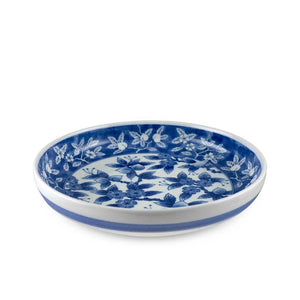 "8"" Round Plate with Floral Pattern (TW-YB279-3-PLP)"