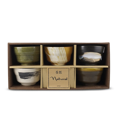 5-Pc Bowl Gift Box Set - 8 oz. each (TW-YS6-AS4-BWP)