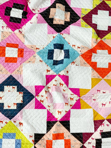 Speckled and Striped Meadowland Quilt (A)