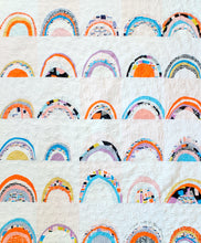 Load image into Gallery viewer, Rainbows & Rainbows Quilt