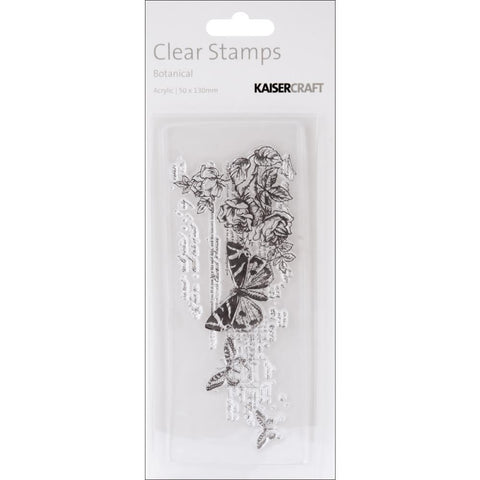 Timeless Clear Stamps 2X5 in. (5cm X 13cm)