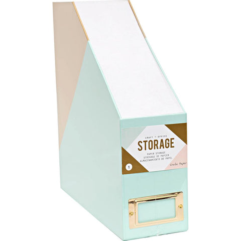 Crate Paper Desktop Paper Storage