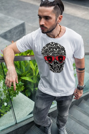 Clown Skull T Shirt