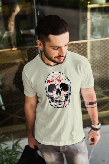 Witch Skull T Shirt