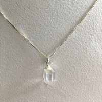Herkimer Diamond 3.35 ct Sterling Silver Necklace