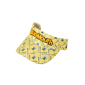 LoudMouth - Men's LM Clubhouse Yellow Visor