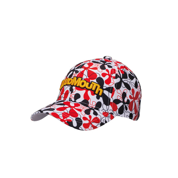 LoudMouth - Men's LM Fire Coral White Cap