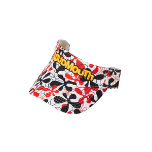 LoudMouth - Men's LM Fire Coral White Visor