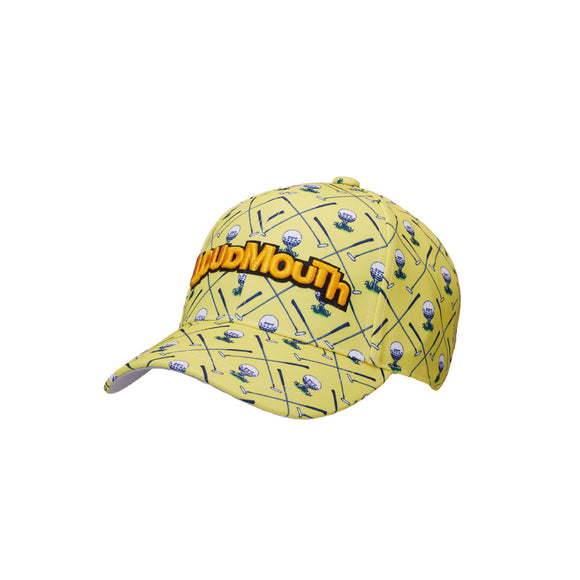 LoudMouth - Men's LM Clubhouse Yellow Cap