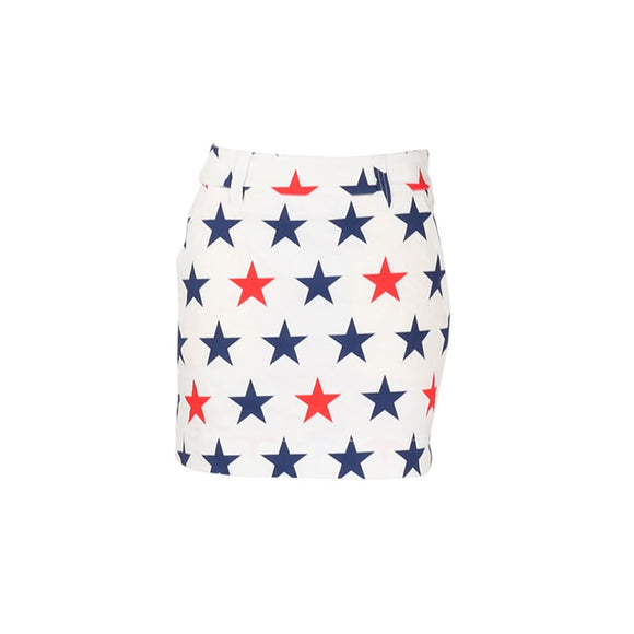 LoudMouth - Women's LM Superstar - White Skirt