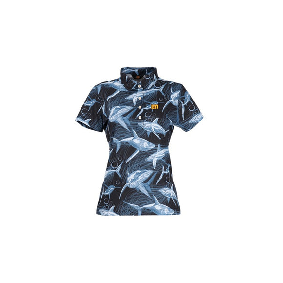 LoudMouth - Women's Short Sleeve Shirt Maneaters